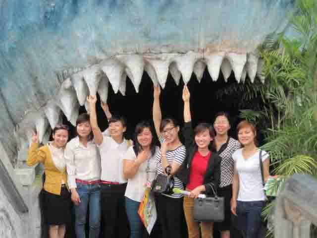 Kế toán Đức Hà - Thiên đường Bảo Sơn 2014