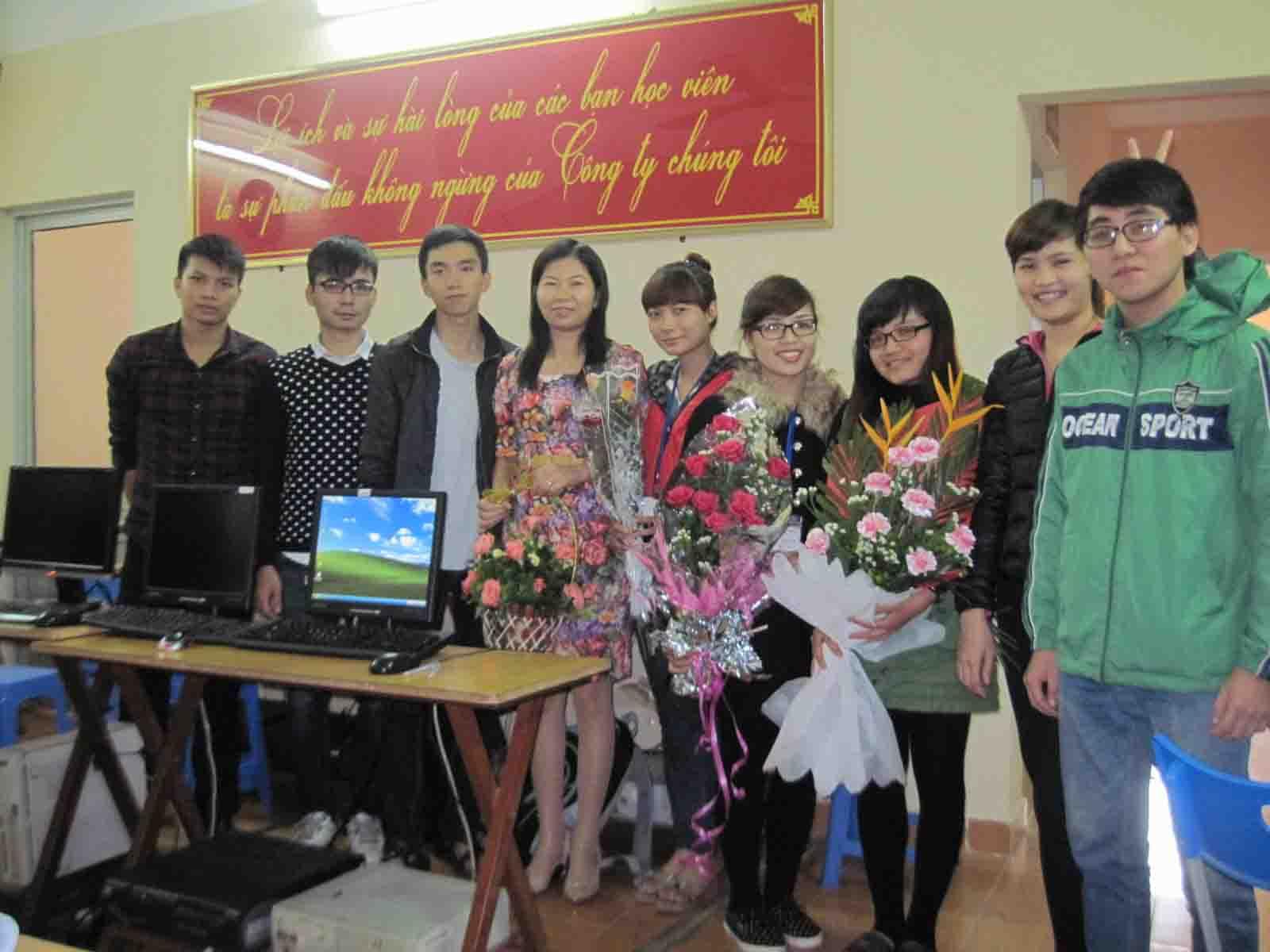 Lễ kỷ niệm ngày Nhà giáo Việt Nam 20/11/2014 tại Kế toán Đức Hà