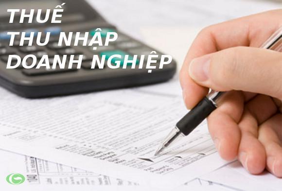 Hướng dẫn cách tính thuế TNDN năm 2015