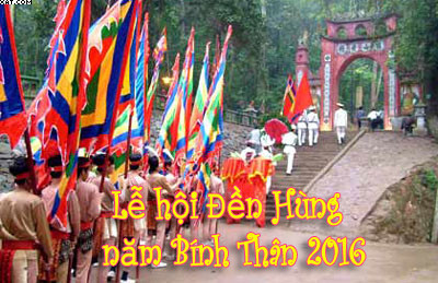 Thông Báo về việc nghỉ lễ Ngày Giỗ tổ Hùng Vương 2016