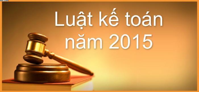 Một số điểm mới của Luật kế toán số 88/2015/QH13