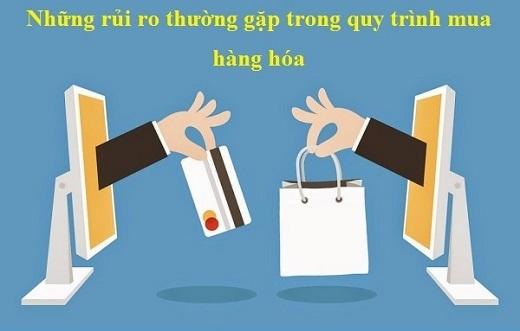 Những rủi ro thường gặp trong Quy trình mua hàng hóa