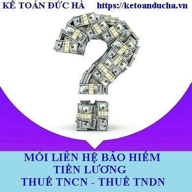 Mối liên hệ giữa BHXH, tiền lương, thuế TNCN, thuế TNDN