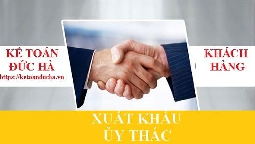 Xuất khẩu ủy thác, chế độ hóa đơn và thuế đối với xuất khẩu ủy thác