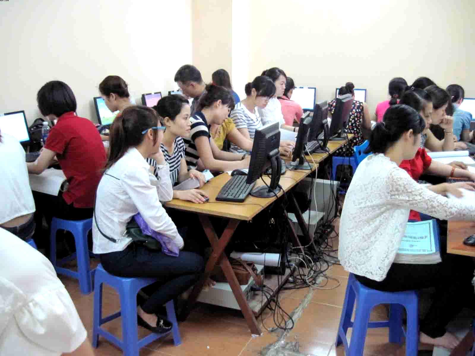Khóa đào tạo thực hành kế toán Thương Mại